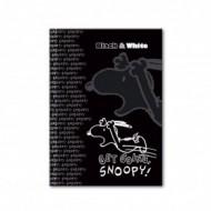Caiet A4 cu coperti tari Snoopy