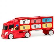 Camion transportor cu 6 masinute