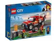 Camionul de interventie al comandantului pompierilor