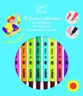 Carioci pensulă Djeco, culori pop