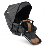 Carucior NXT90 Flat Outdoor Air Sasiu Negru Emmaljunga Outdoor Eco Black
