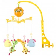 Carusel muzical pentru patut Chipolino Giraffes and Elephants