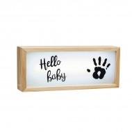 Caseta luminoasa cu amprenta Baby Art