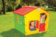 Casuta de joaca pentru copii cu acoperis rosu - GALILEE VILLAGE HOUSE