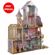 Casuta pentru papusi Enchanted Greenhouse Castle - KidKraft