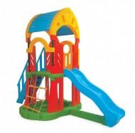 Centru de joaca cu tobogan si scara - GALAXY Slide Set