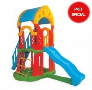 Complex  de joaca cu tobogan si scara - GALAXY Slide Set