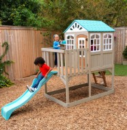 Complex de joaca Highline Retreat Wooden Playset- Kidkraft