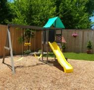 Complex de joaca Newport Wooden Swing Set / Playset- Kidkraft