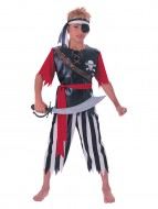 Costum de carnaval - Capitanul piratilor