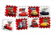 "Covoras Puzzle Cars - ""Race of a Lifetime"", 8 buc, Knorrtoys"