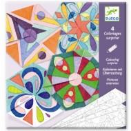 Crafturi din hârtie Djeco, Mandala rozete