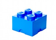 Cutie depozitare LEGO® 2x2 albastru inchis