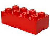 Cutie depozitare LEGO® 2x4 rosu