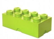 Cutie depozitare LEGO® 2x4 verde deschis