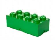 Cutie depozitare LEGO® 2x4 verde inchis