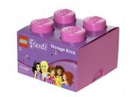 Cutie depozitare LEGO® Friends 2x2 roz