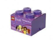 Cutie depozitare LEGO® Friends 2x2 violet