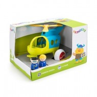 Elicopter culori vesele cu 2 figurine - Jumbo