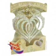 Felicitare 3D Iubire divina-Swing Cards