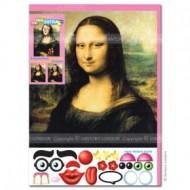 Felicitare amuzanta Little Extra Mona Lisa
