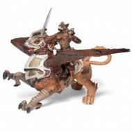 Figurina jucarie Papo Grifon cu calaret vultur