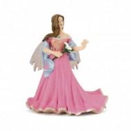 Figurina Papo Elf roz cu crin