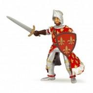 Figurina Papo - Printul Filip (rosu)