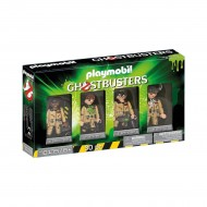 GHOSTBUSTERS - SET 4 FIGURINE