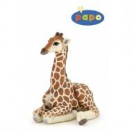 Girafa sezand - Figurina Papo