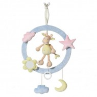 Inel muzical decorativ Girafa - Brevi Soft Toys