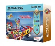 Joc de constructie magnetic - 72 piese