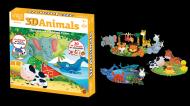 Joc de potrivire - Animalute 3 D