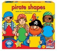 Joc educativ Formele piratilor PIRATE SHAPES