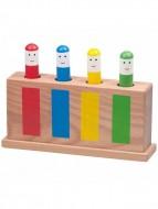 Jucarie din lemn Pop-Up
