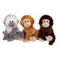 Jucarie din plus maimutica cu sunet (25cm)