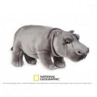 Jucarie din plus National Geographic Hipopotam
