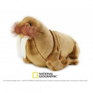 Jucarie din plus National Geographic Morsa 28 cm