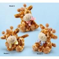 Jucarie din plus pentru copii Girafa