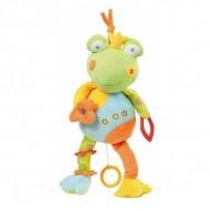 Jucarie muzicala Broscuta - Brevi Soft Toys