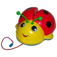 Jucarie muzicala Buburuza - Brevi Soft Toys