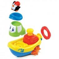 Jucarie pentru baie - Barcuta pinguinului