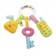 Jucarie zornaitoare Iepuras, Cheita & Telefon mobil - Brev Soft Toysi