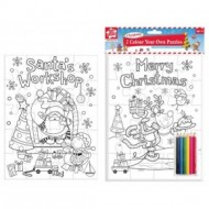 Kids Create - Set creativ Coloreaza propriul puzzle