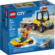 LEGO® CITY  ATV DE SALVARE PE PLAJA 60286