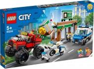 LEGO® CITY CAMIONUL GIGANT DE POLITIE SI ATACUL ARMAT 60245