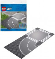 LEGO® CITY CURBĂ ȘI INTERSECȚIE 60237