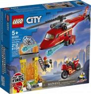 LEGO® CITY  ELICOPTER DE POMPIERI 60281