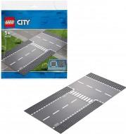 LEGO® CITY INTERSECȚIE DREAPTĂ ȘI ÎN T 60236