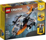 LEGO® CREATOR DRONA CIBERNETICA 31111